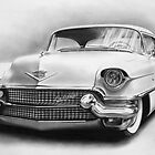 1956 Cadillac by John Harding