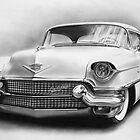1956 Cadillac by John Harding