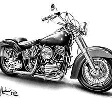 1960 Harley-Davidson by John Harding