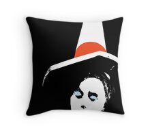 Cona Lisa aka Mona Lisa Statue, Glasgow, Scotland, UK Throw Pillow