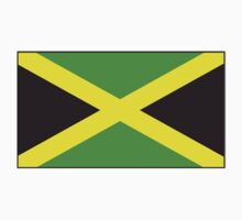 Jamaican Flag, Flag of Jamaica, Caribbean Island, Pure & Simple by TOM HILL - Designer