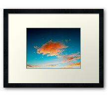 ©HCS The Cloud Shine In HDR IA. Framed Print