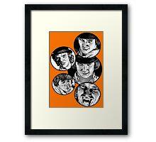 Clockwork Orange Framed Print