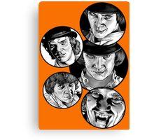 Clockwork Orange Canvas Print