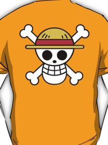 One Piece Luffy logo T-Shirt