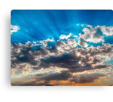©HCS Sunshine In HDR IA. Canvas Print
