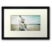 lemon skies Framed Print