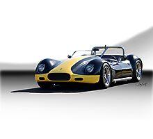 1956 Lister-Corvette Roadster 'Studio' Photographic Print
