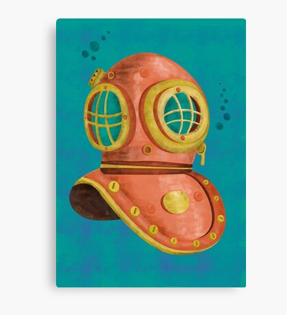 Scuba diving Canvas Print