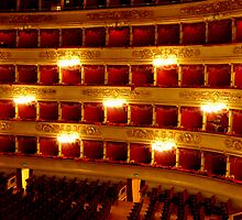 La Scala, Milan, Italy by Tamara Travers