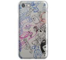 tippy doodle dee iPhone Case/Skin