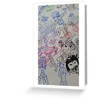 tippy doodle dee Greeting Card