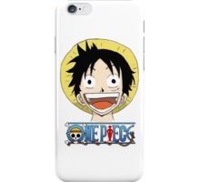 Luffy smile iPhone Case/Skin