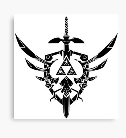 Legend Of Zelda: Sword and Shield  Canvas Print