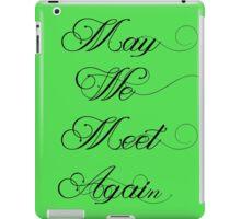The 100: May We Meet Again iPad Case/Skin