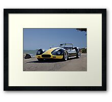 1956 Lister-Corvette 'Oceanside' Framed Print