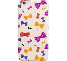 Bowties! iPhone Case/Skin