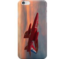 Red Arrows - Folland Gnat iPhone Case/Skin