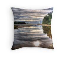 The ocean beckons Throw Pillow