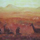Sunlit Plain by Estelle O'Brien