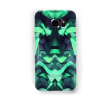 Abstract Surreal Chaos theory in Modern poison turquoise green Samsung Galaxy Case/Skin