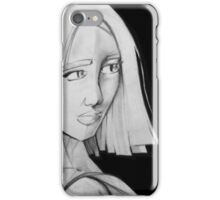 THE LOOK : Black & White iPhone Case/Skin