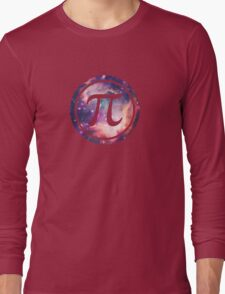 PI - Universum / Space / Galaxy  Nerd & Geek Style Long Sleeve T-Shirt