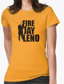 Fire Jay Leno Womens Fitted T-Shirt