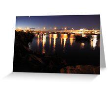 Light Bridge Greeting Card