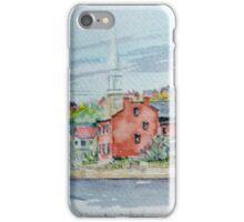 Bench Street, Galena Illinois iPhone Case/Skin