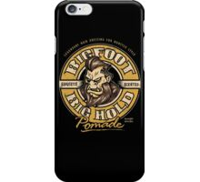 Big Foot Pomade iPhone Case/Skin
