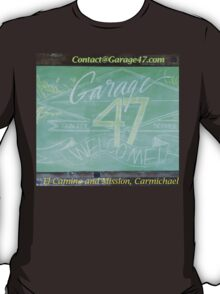 Sign Garage47.com T-Shirt