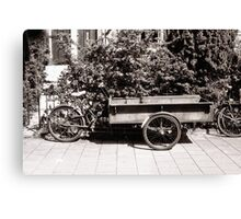 Carrier Tricycle Canvas Print