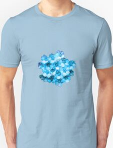 Many Blue Flowers T-Shirt