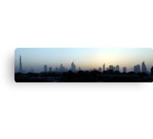 Dubai,  United Arab Emirates Canvas Print