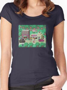 Earthbound Town Women's Fitted Scoop T-Shirt