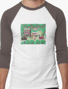 Earthbound Town Men's Baseball ¾ T-Shirt