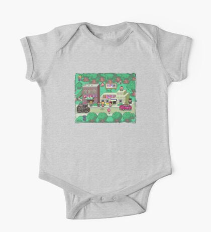 Earthbound Town One Piece - Short Sleeve