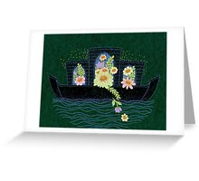 Summer Night Voyage Greeting Card