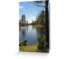 Tully Lake Greeting Card