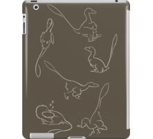 Playful Feathered Raptors iPad Case/Skin