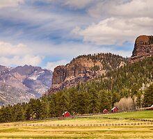 Colorado Western Landscape by Bo Insogna