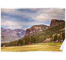 Colorado Western Landscape Poster