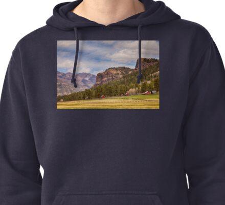 Colorado Western Landscape Pullover Hoodie