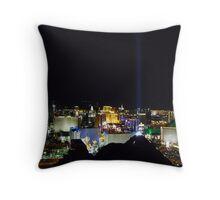 Las Vegas nightlife Throw Pillow