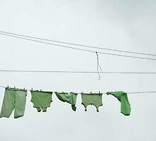 Brooklyn Laundry by Bob Gaffney