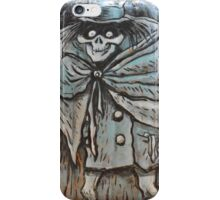 Disney Hat Box Ghost Disney Haunted Mansion Disney Halloween iPhone Case/Skin