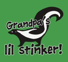 Little sticker grandbaby humor One Piece - Short Sleeve