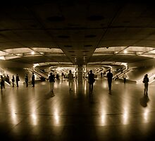 Lisbon Metro by irishrain