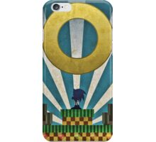 Sonic The HedgeHog - Art Deco Style iPhone Case/Skin